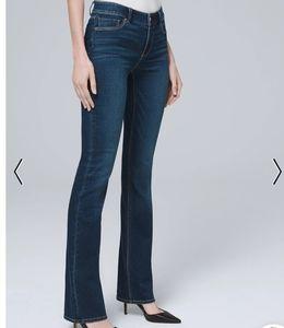 White House Black Market Contour  Blue Jeans NWOT
